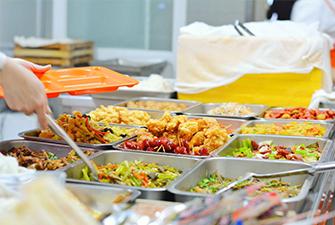 学校食堂饭菜